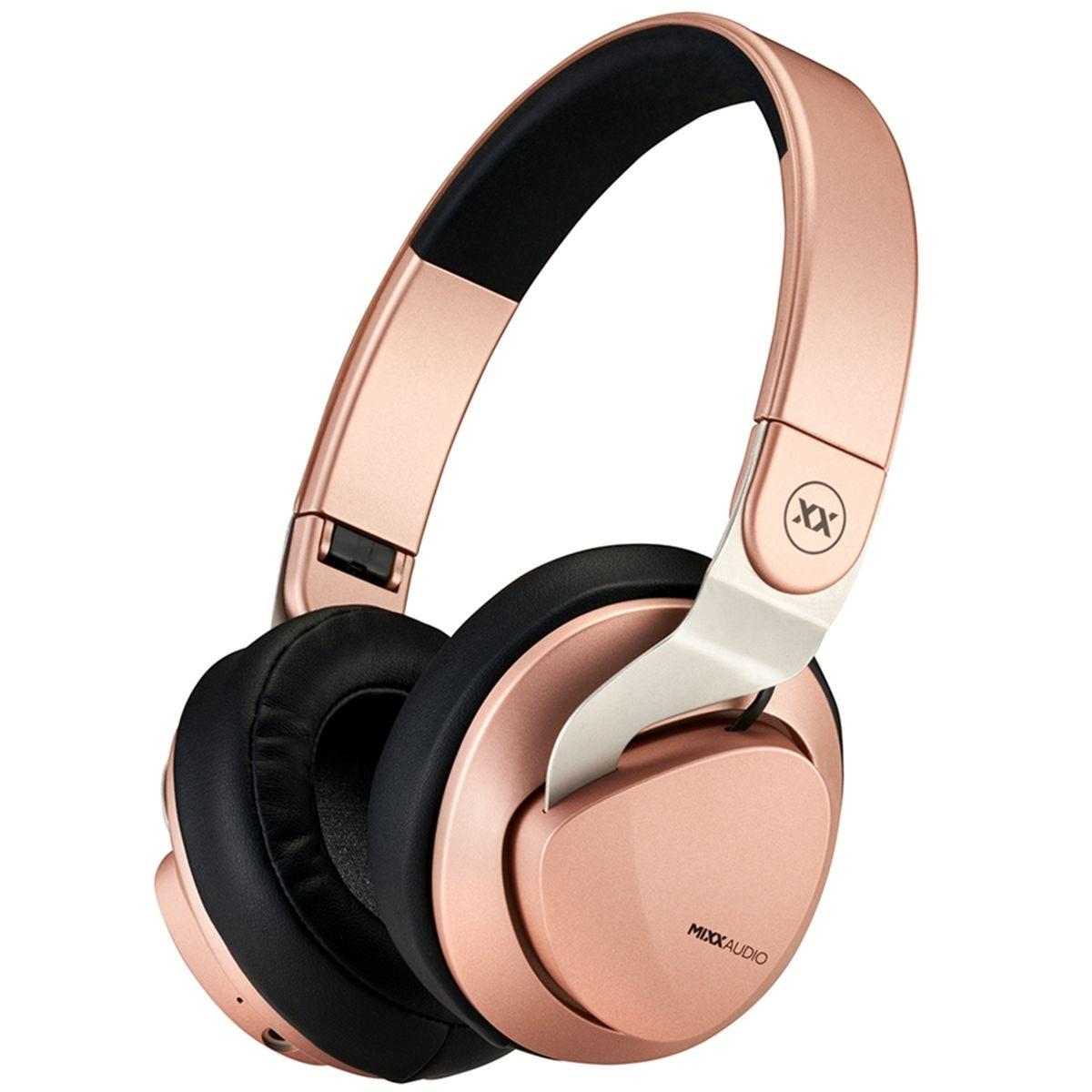 Mixx JX2 Wireless over-ear Headphones - Rose Gold