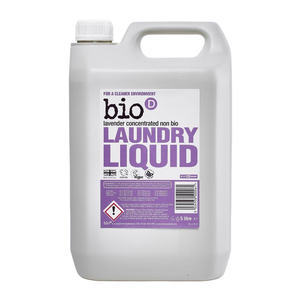 Bio-D Lavender Laundry Liquid - 5L