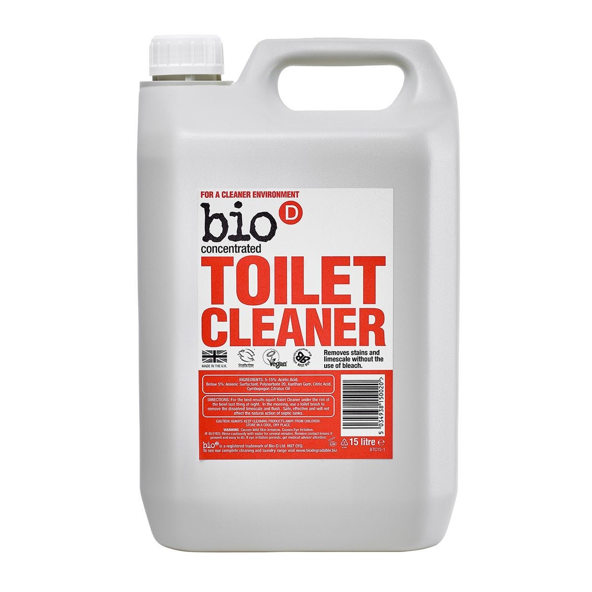 Bio-D Toilet Cleaner - 5L