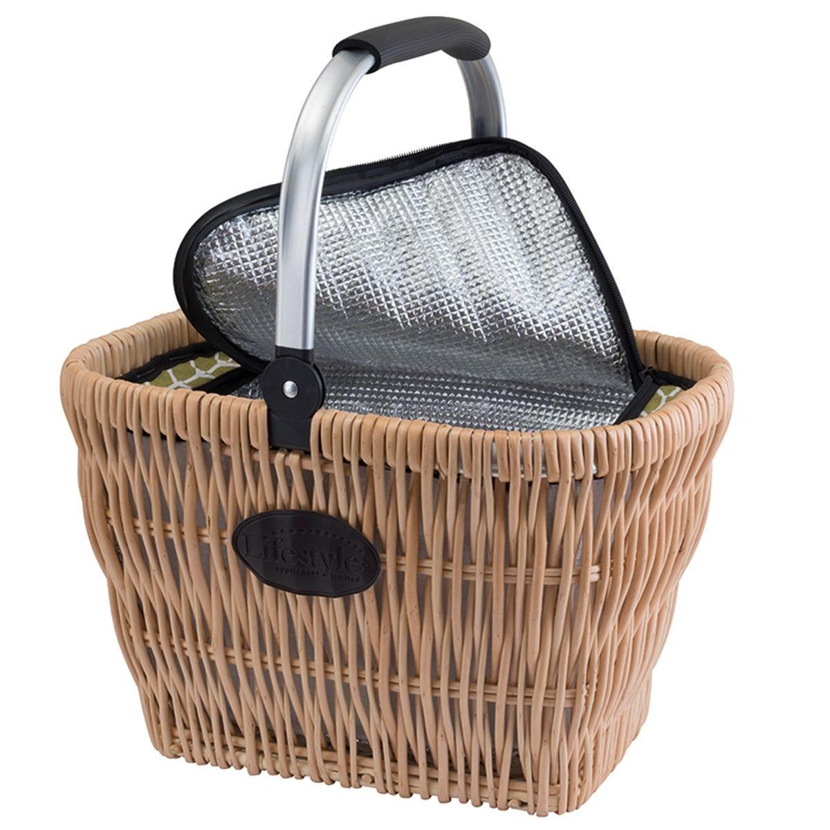 Willow Cooler Picnic Basket
