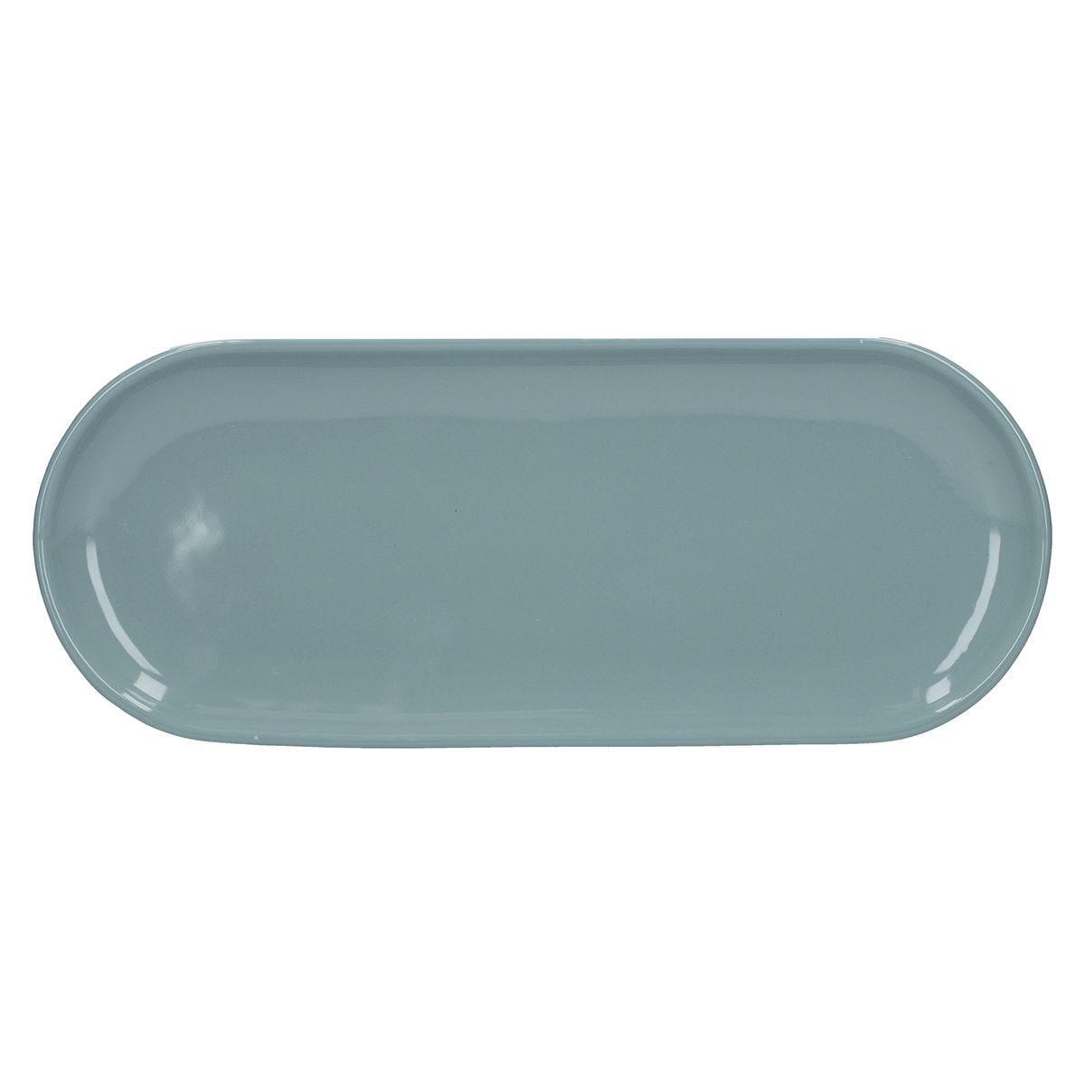 La Cafetiere Ceramic Barcelona Serving Tray - Retro Blue
