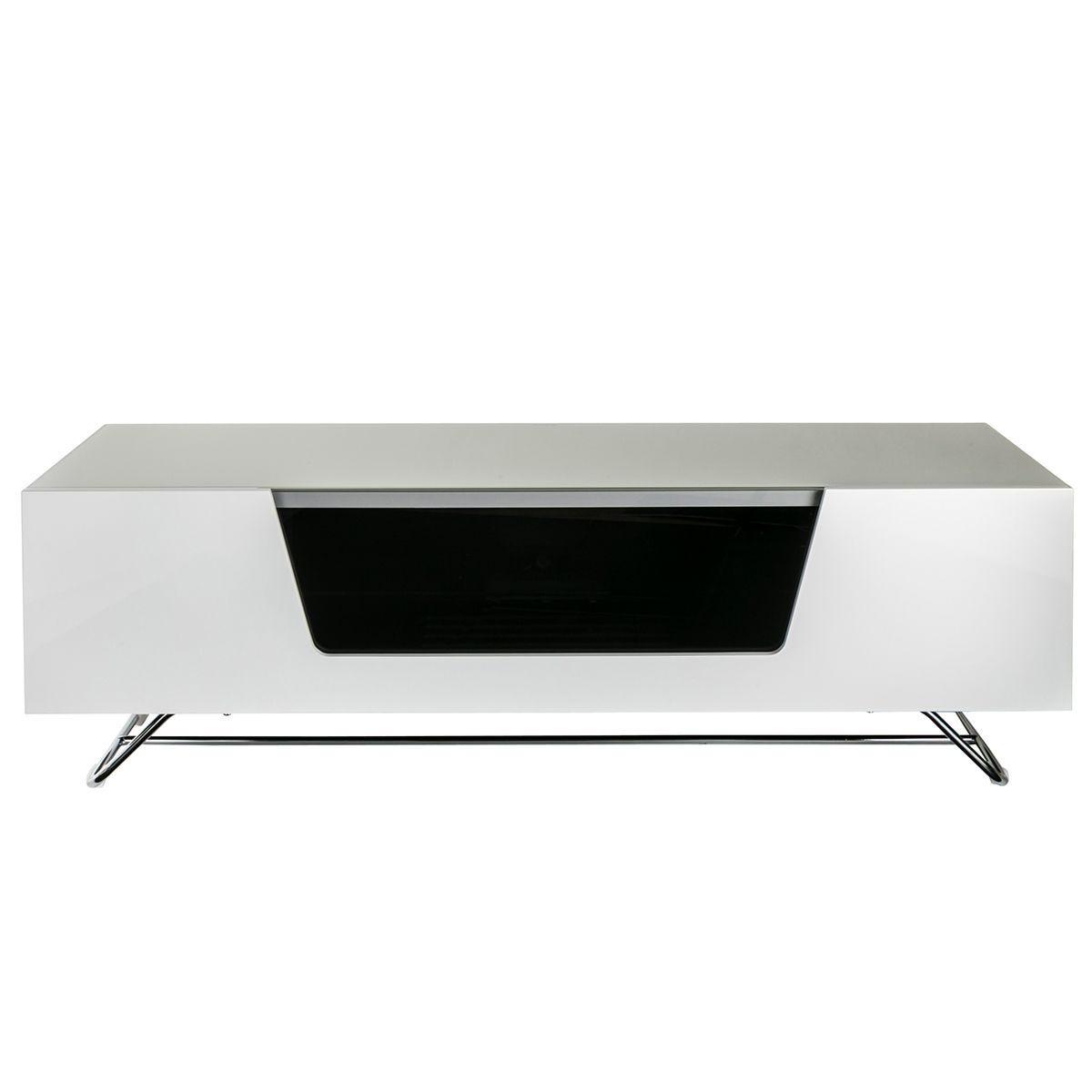 Alphason Chromium 2 1200 TV Stand - White