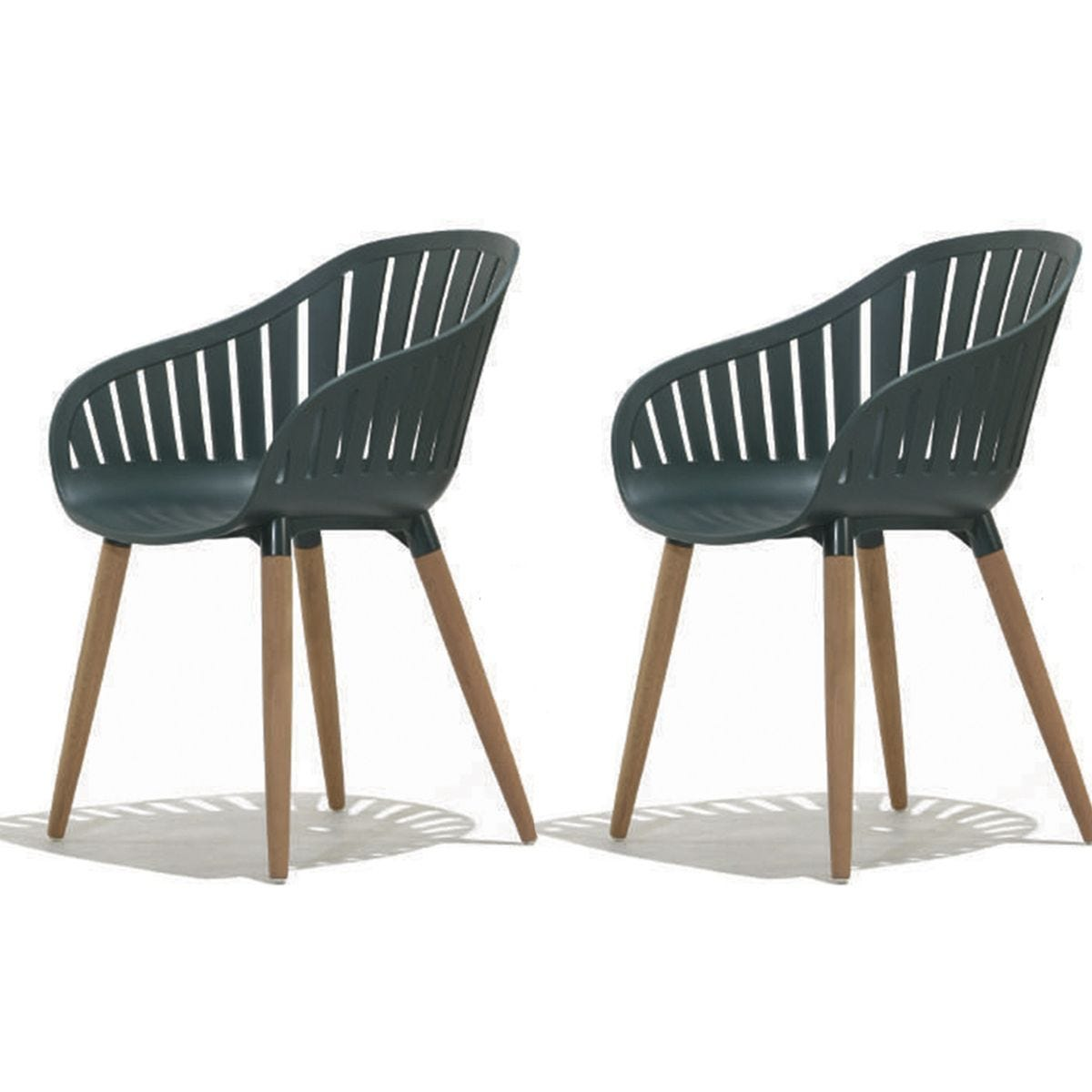 DuraOcean Recycled Plastic Chairs - 2 Pack