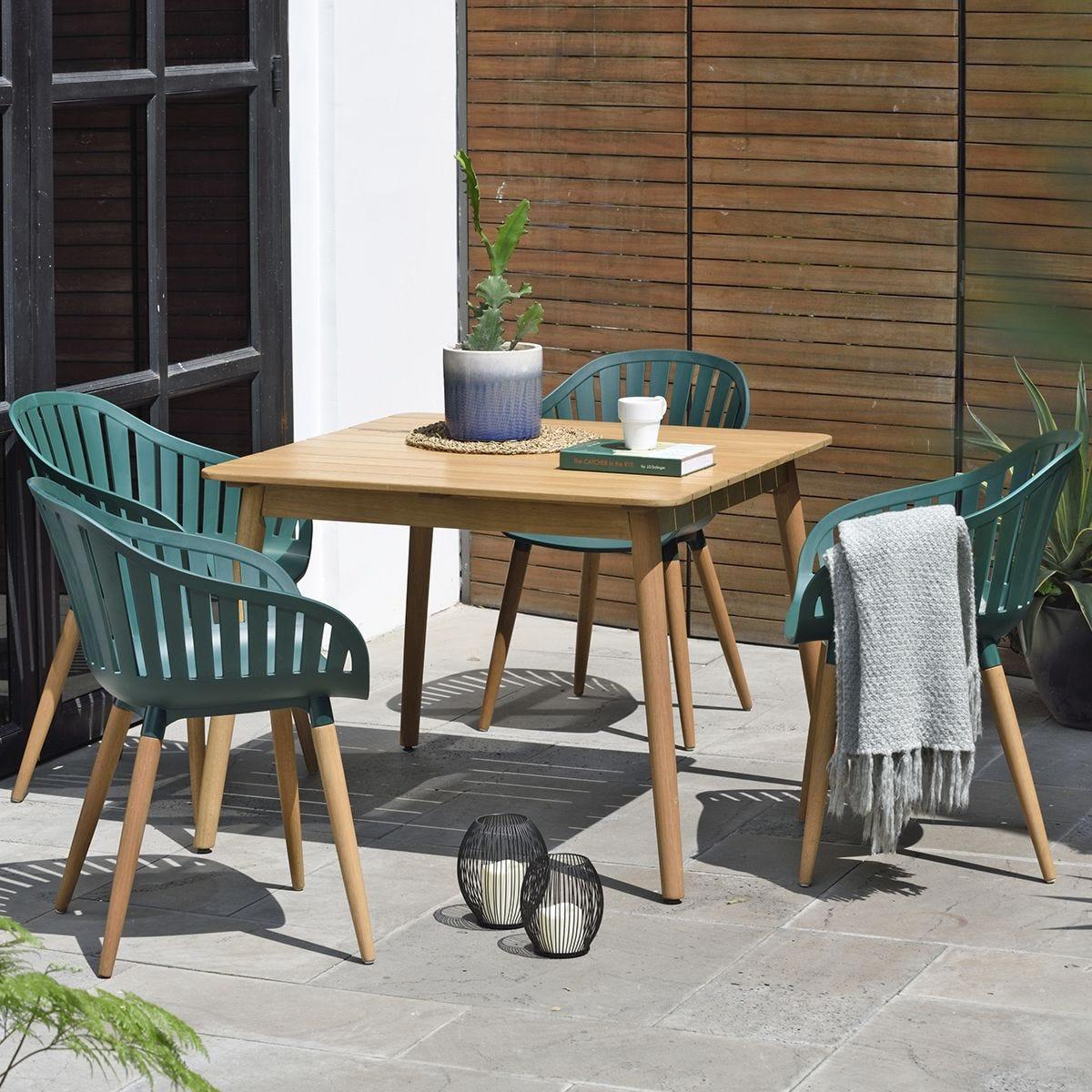 DuraOcean 4 Seater Chair and Table Set