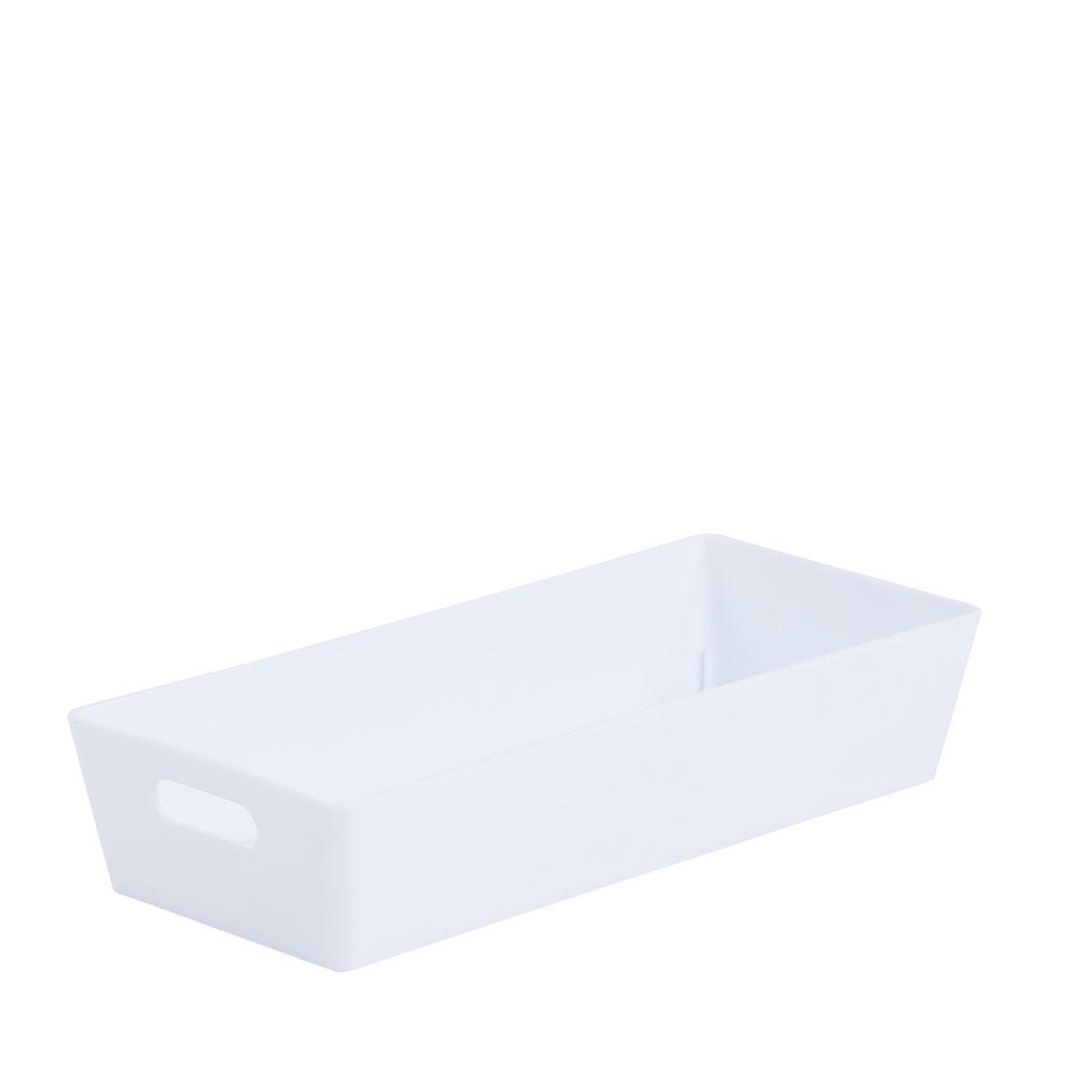 Wham Rectangular Studio Store Basket 2.01 - Ice White
