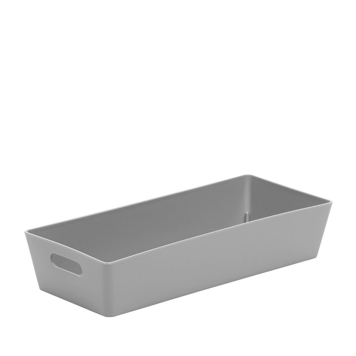 Wham Rectangular Studio Store Basket 2.01 - Cool Grey