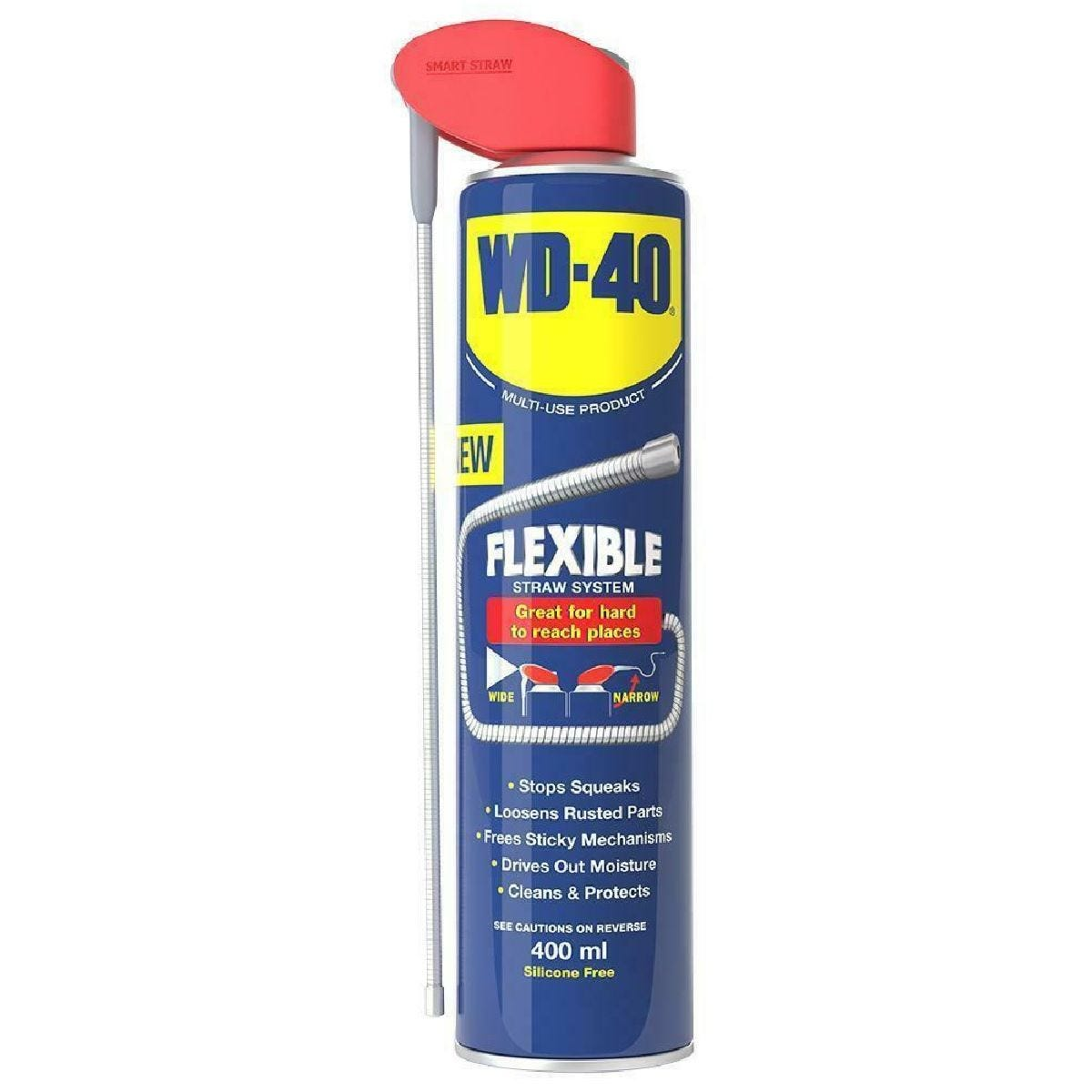 WD-40 Multi-Use with Flexible Straw - 400ml