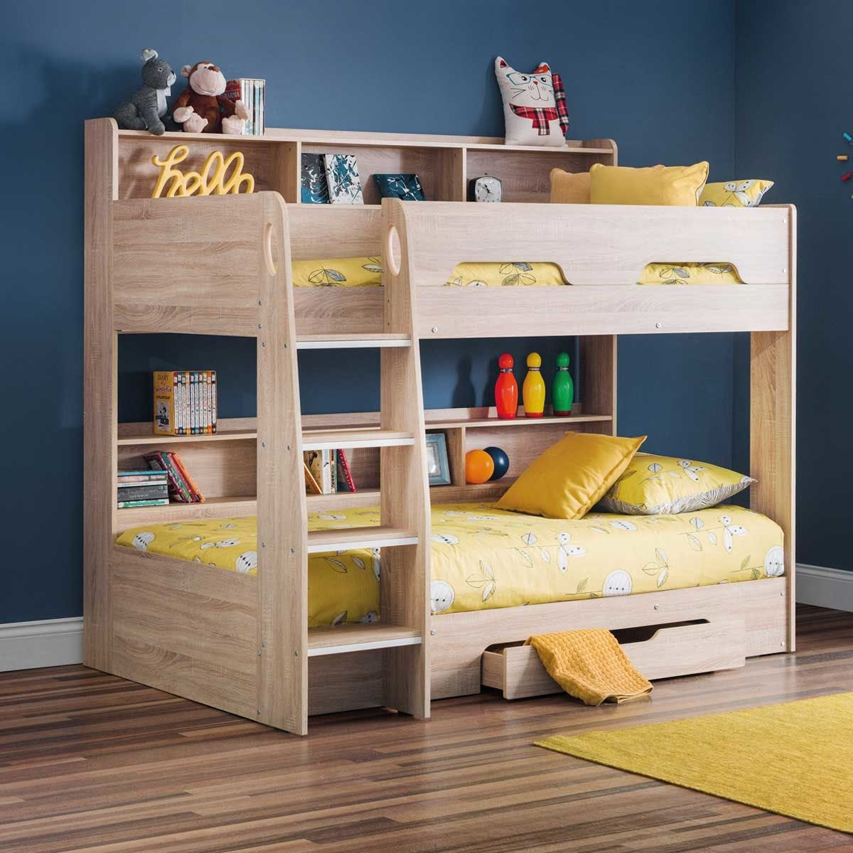 Julian Bowen Orion Bunk Bed - Sonoma Oak