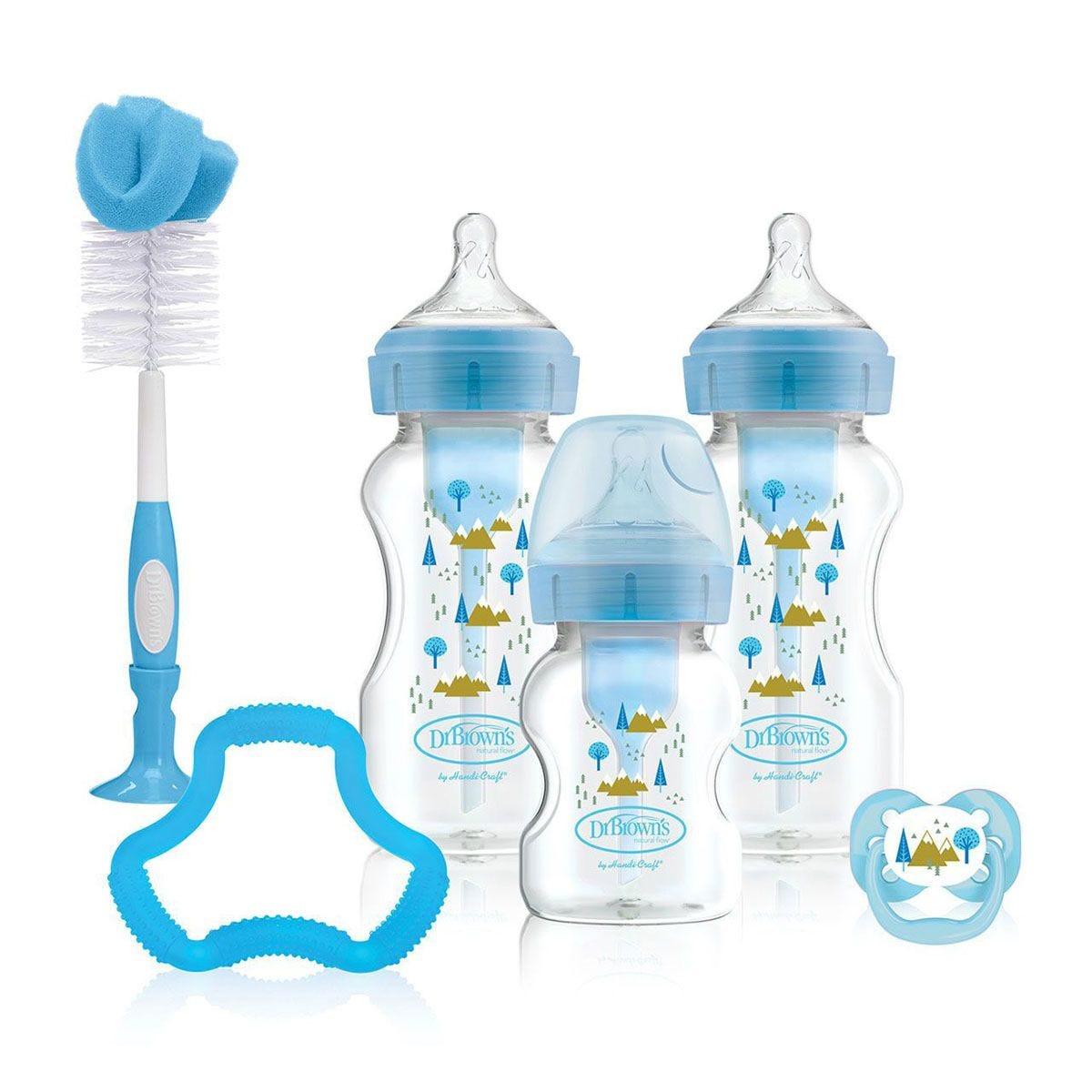 Dr Brown's DBWB03602 Options+ Gift Set – Blue