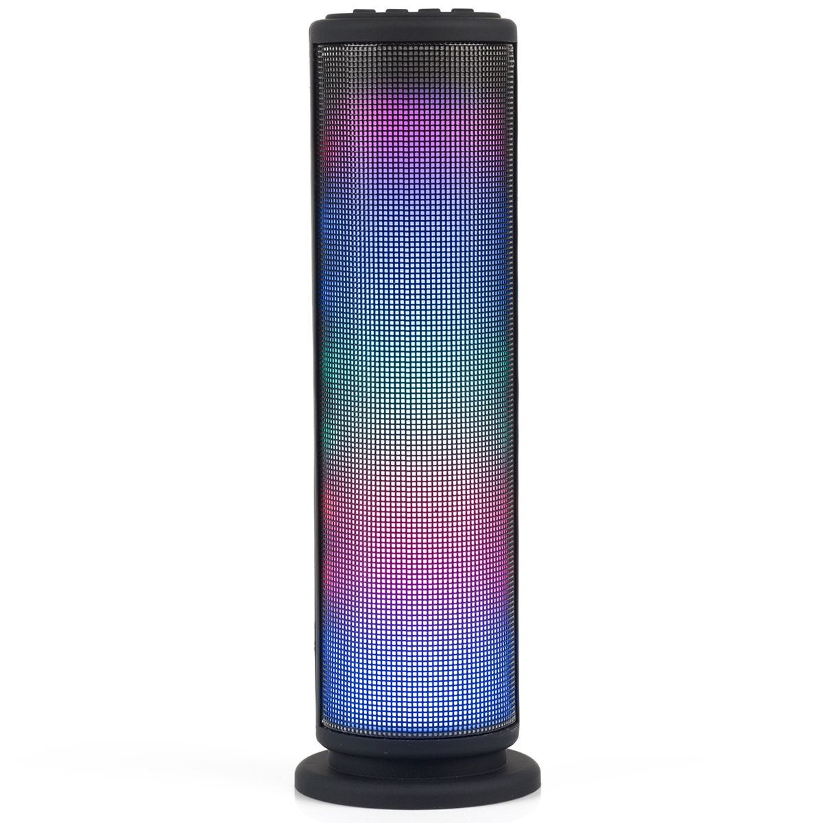 Intempo LED Light Tower 3 W Bluetooth Speaker for iPhone, iPad, Samsung Galaxy, Android and other Smart USB Devices  - Black