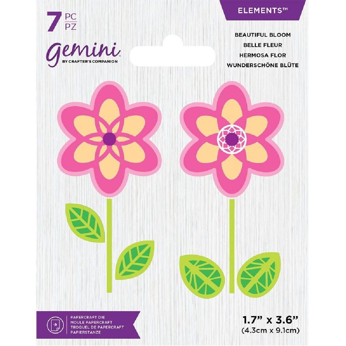Gemini Die - Elements - Beautiful Bloom