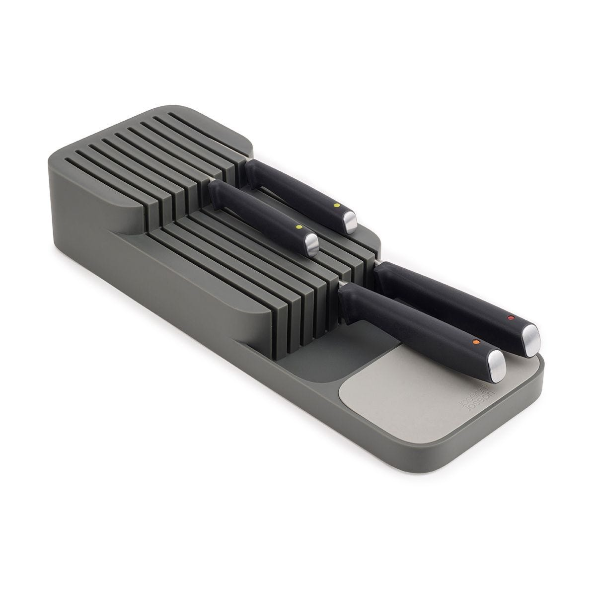 Joseph Joseph DUO Compact Knife Organiser - Grey