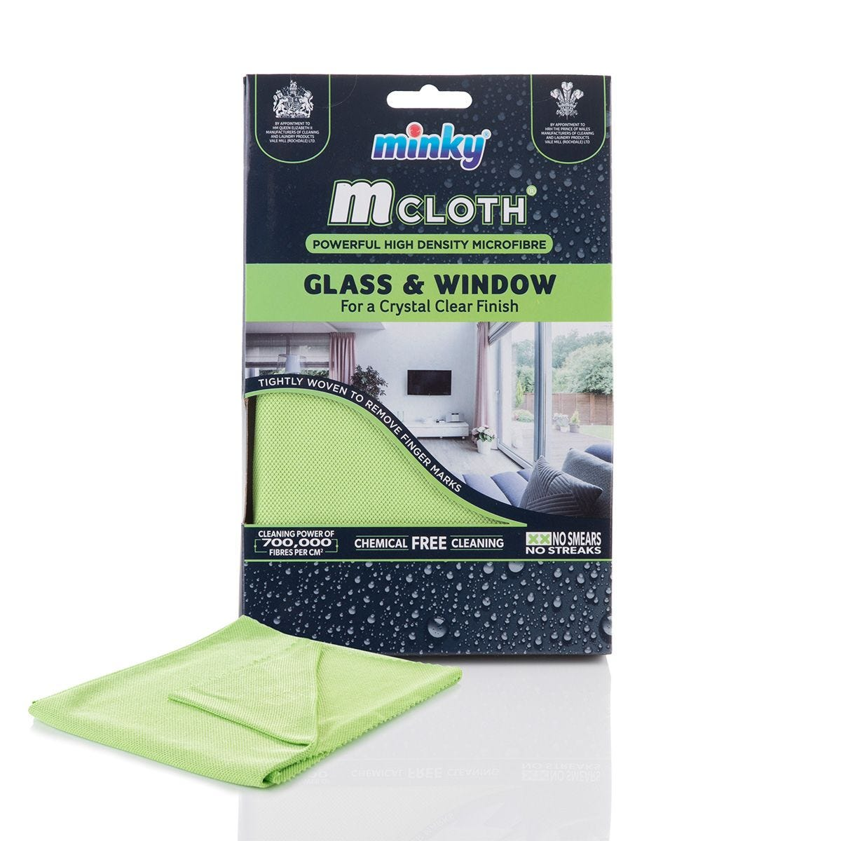 Minky Glass and Window Microfibre M-Cloth