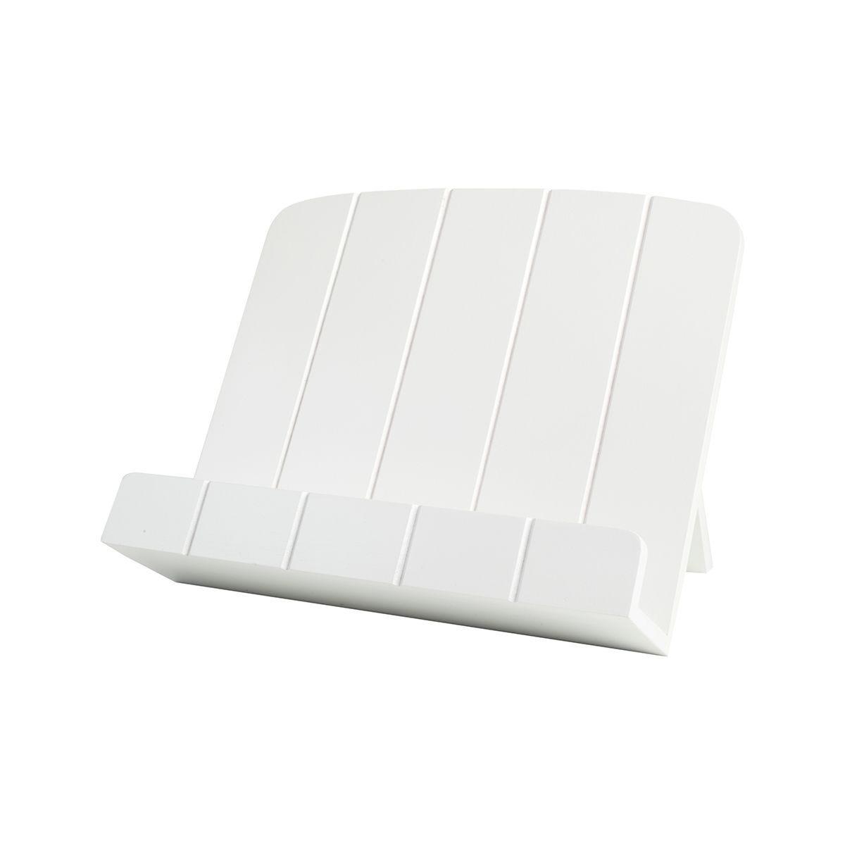T&G Cookbook Stand - White