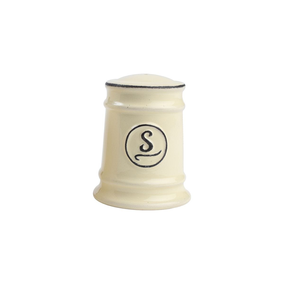 T&G Pride Of Place Salt Shaker - Old Cream