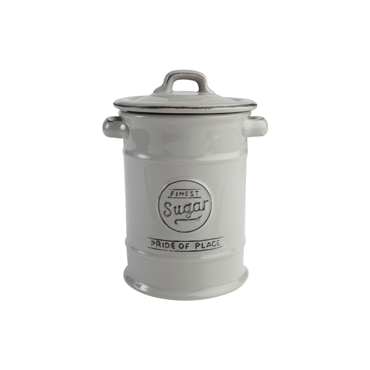 T&G Pride of Place Sugar Canister - Cool grey