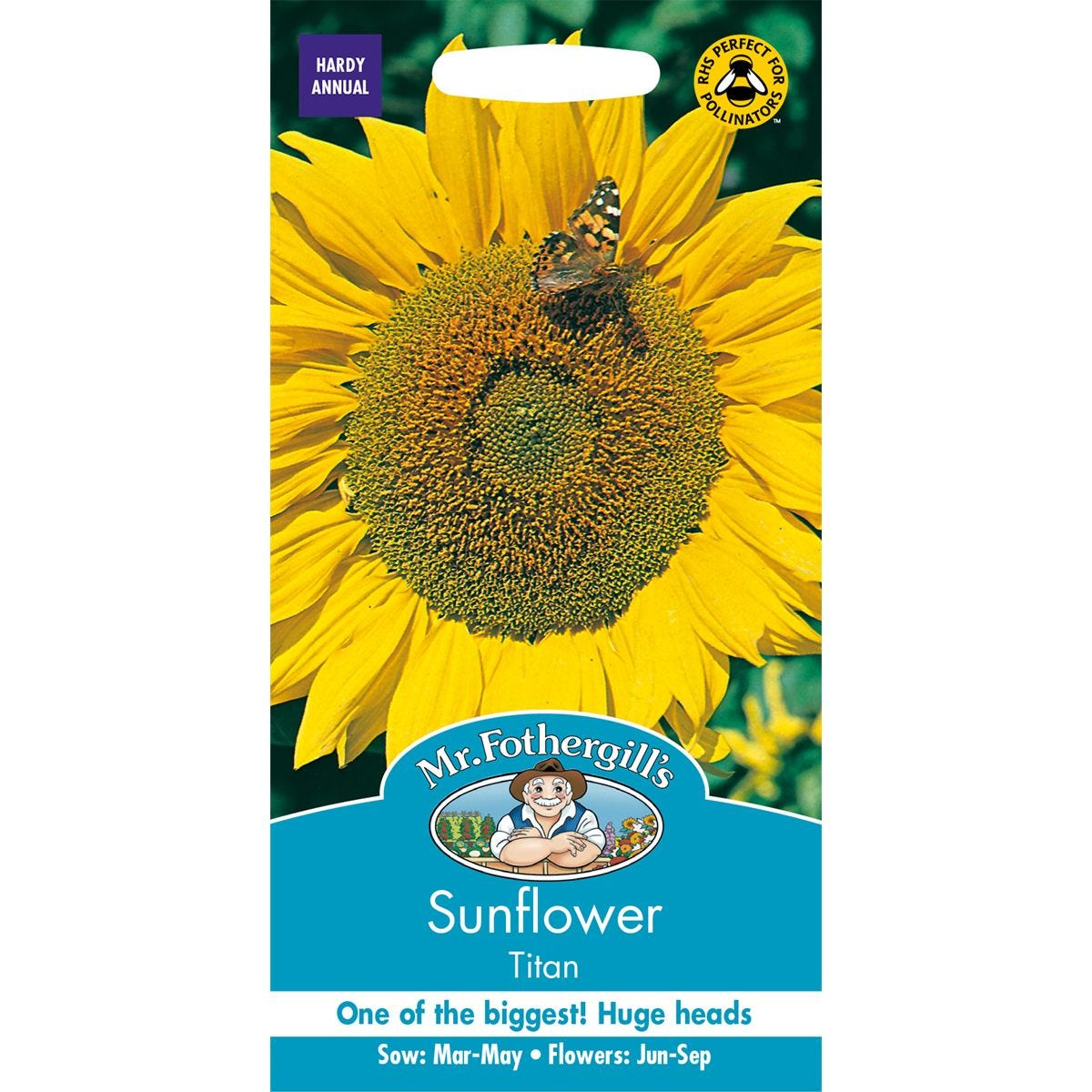Mr Fothergill's Titan Sunflower Seeds