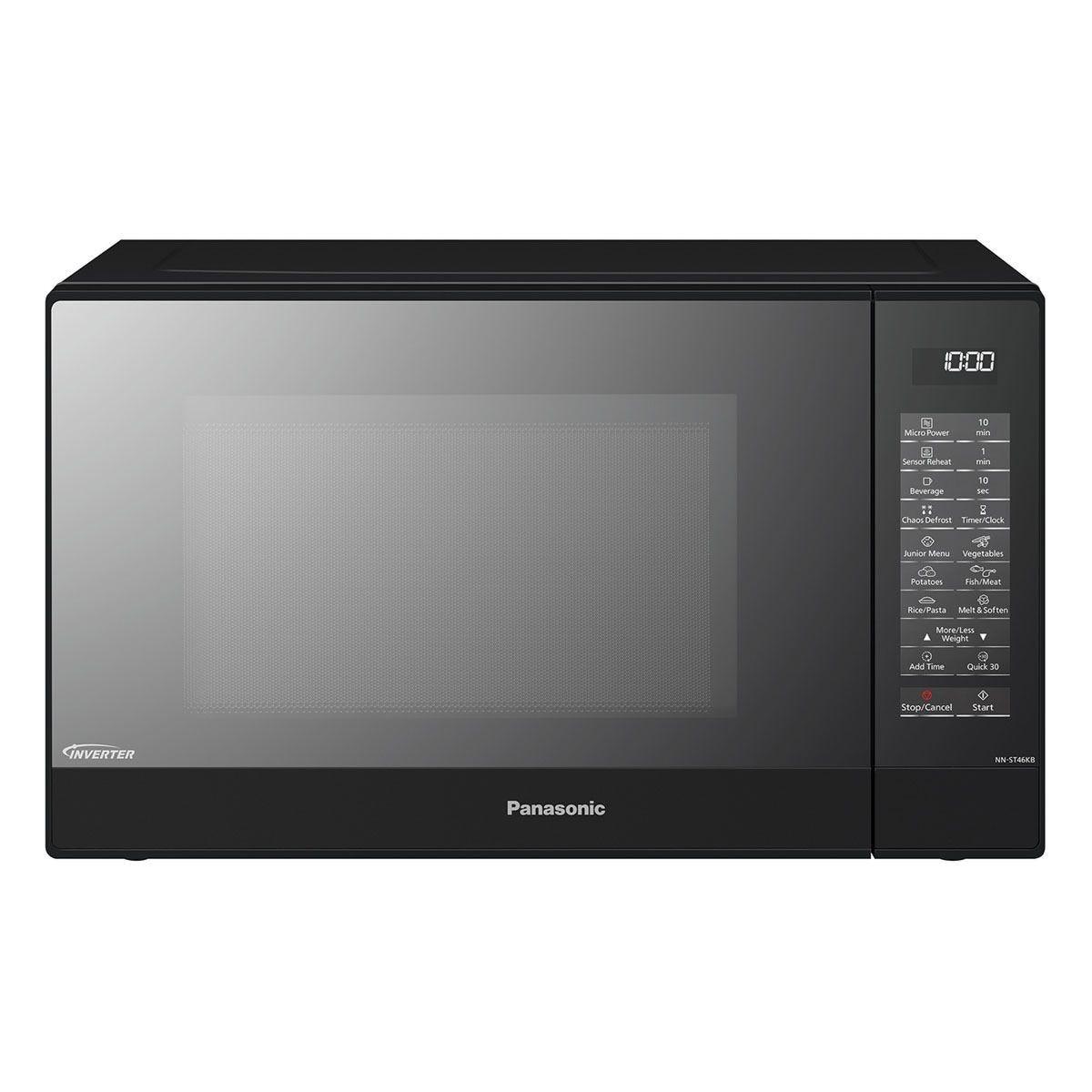 Panasonic NN-ST46KBBPQ 32L 1000W Solo Microwave - Black
