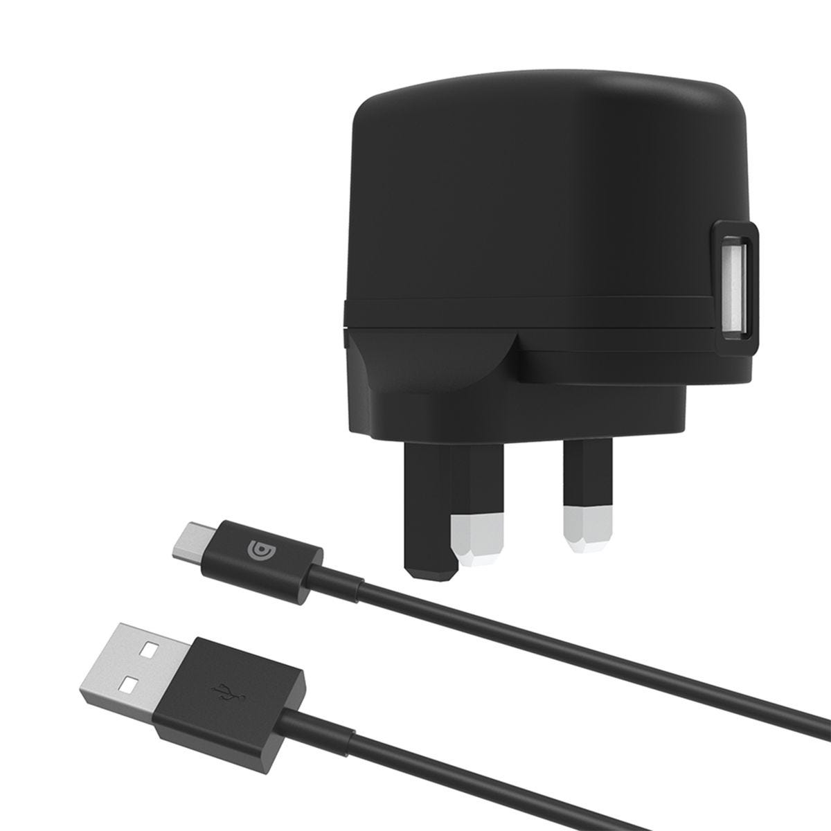 Griffin Mains Charger with USB-A to Micro-USB Cable