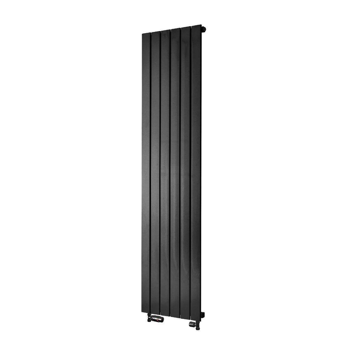Towelrads Oxfordshire Vertical Radiator - Gun Metal 1800x465
