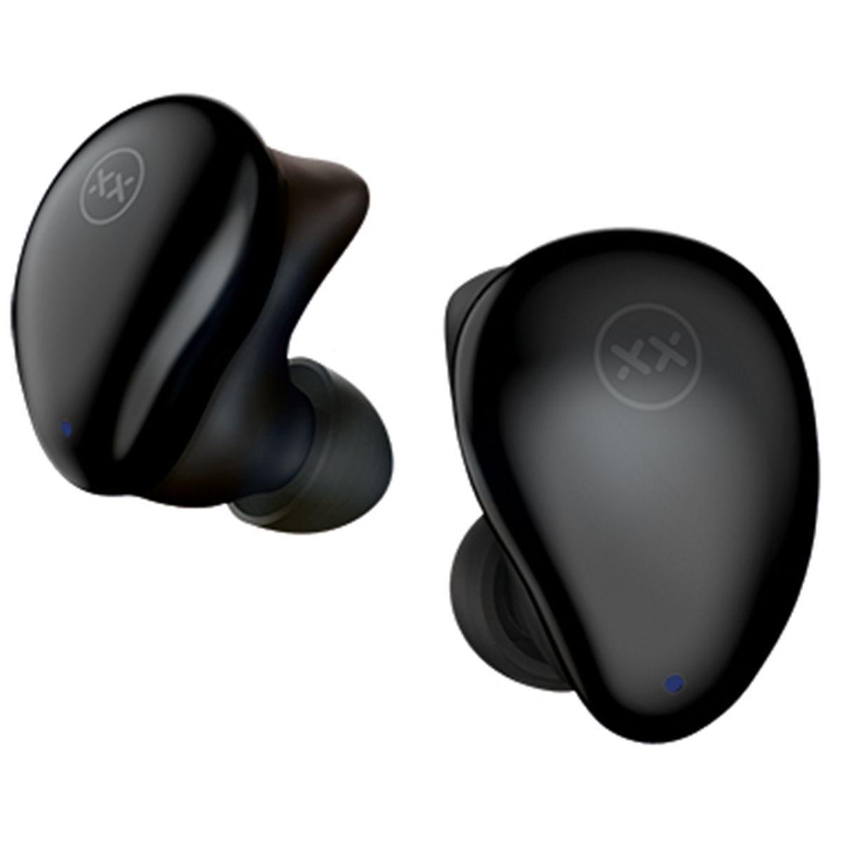 MIXX Streambuds TrueFit True Wireless Earbuds with Docking Station - Midnight Black