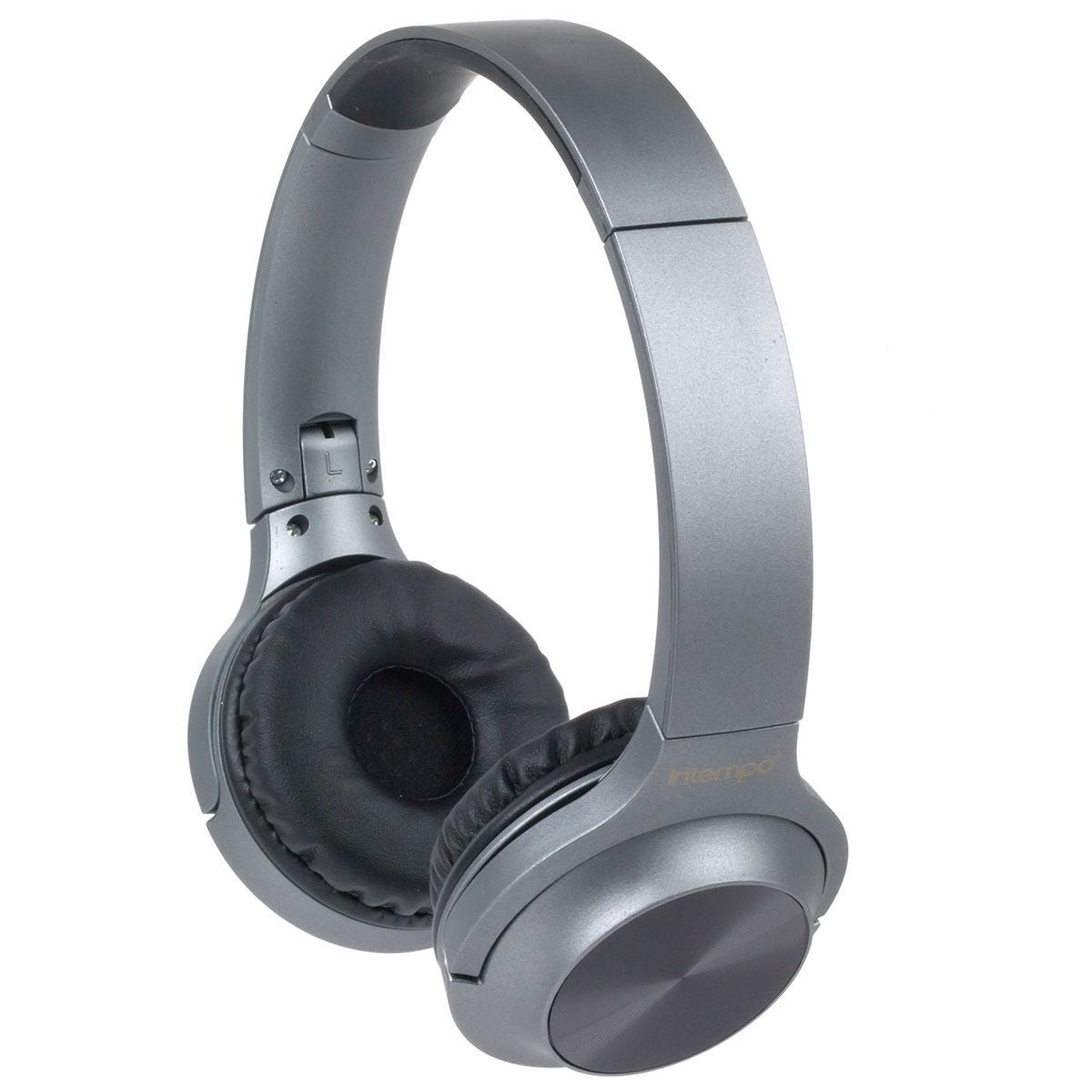 Intempo Urban WDS 180 Bluetooth Foldable Headphones - Grey
