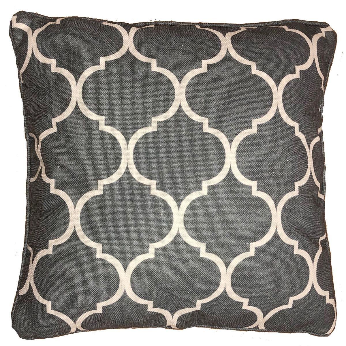 Greenhurst Harmony Square Scatter Cushion - Grey