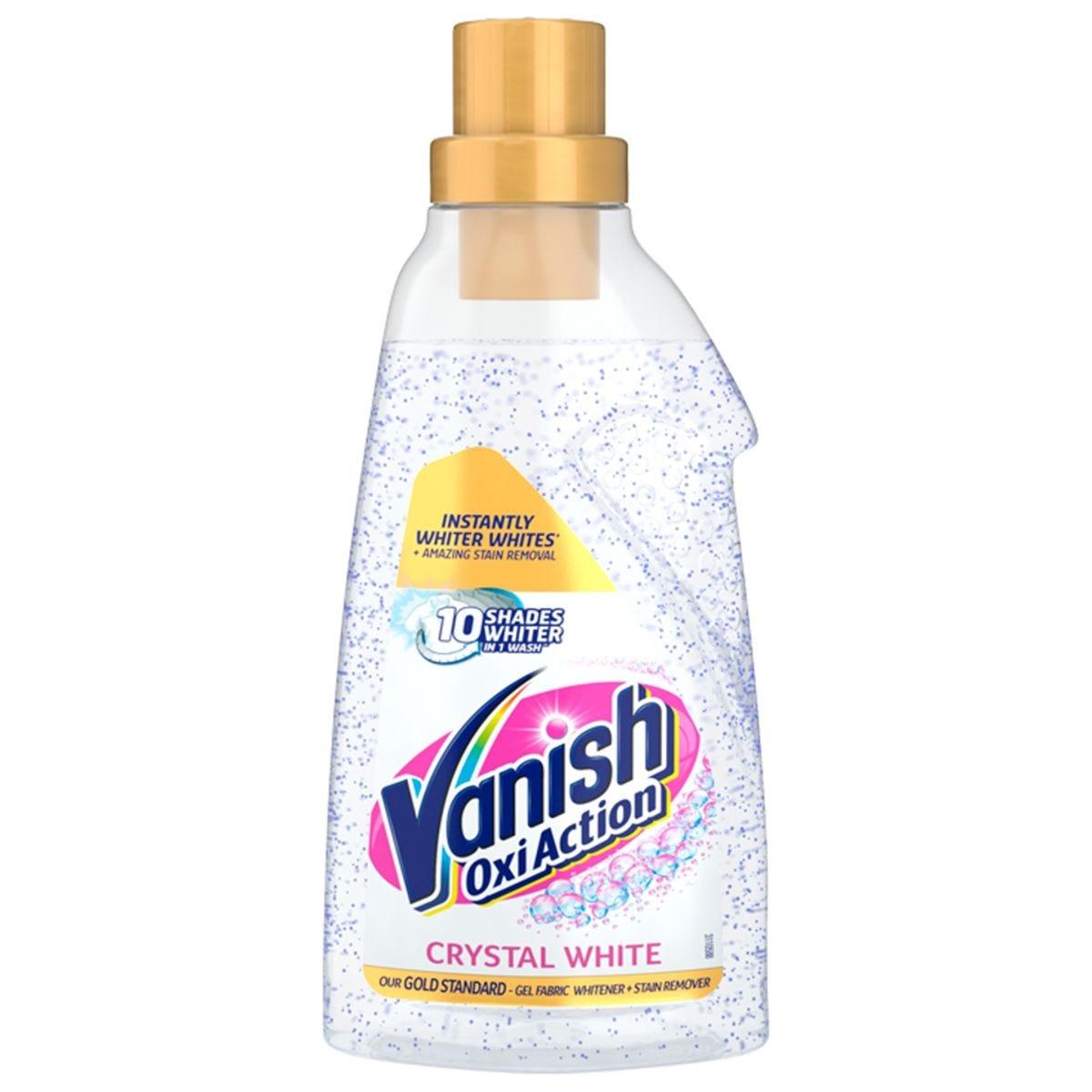 Vanish Oxi Action Crystal White Gel - 750ml
