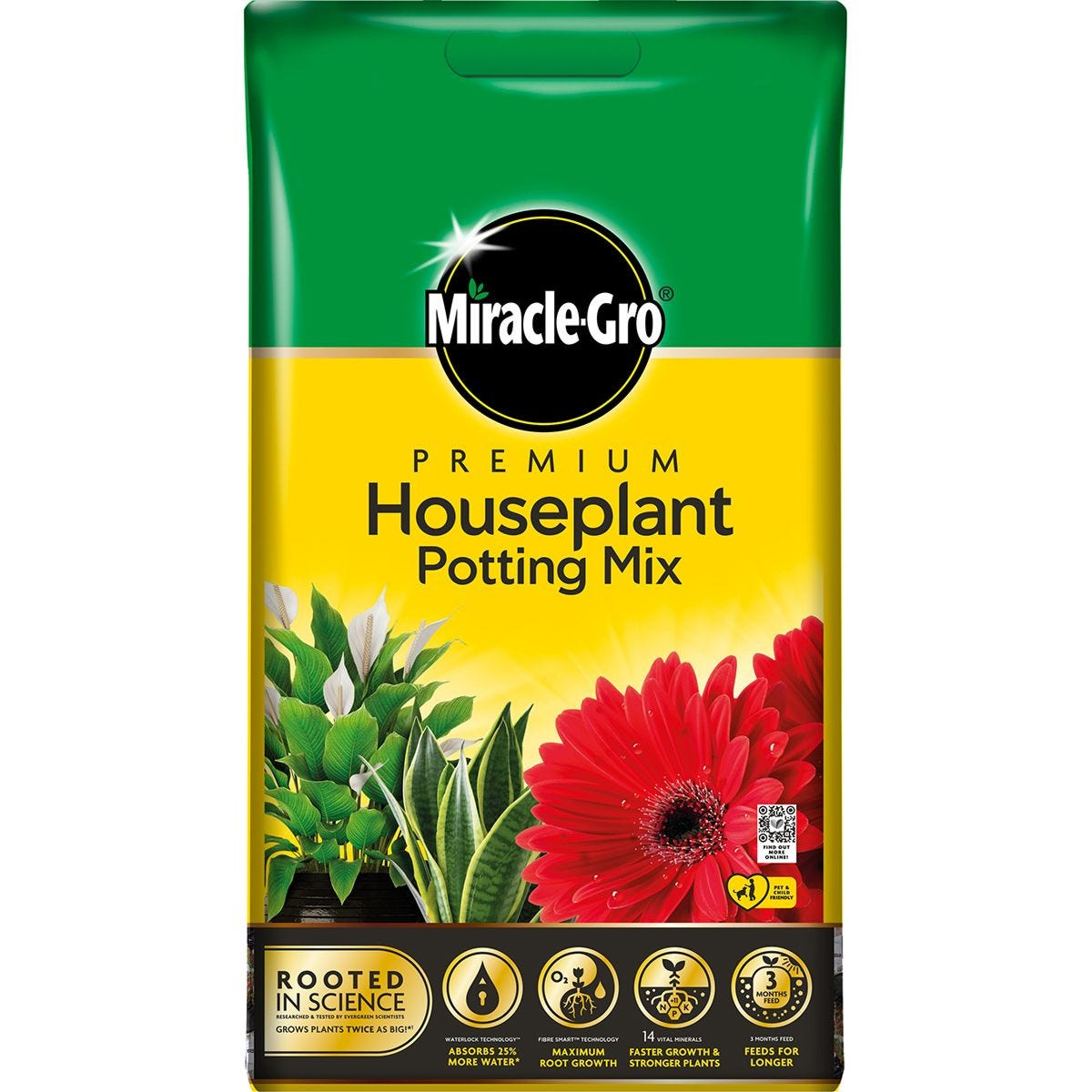 Miracle-Gro Houseplant & Potting Compost - 10L