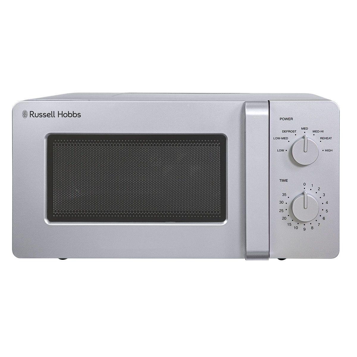 Russell Hobbs RHM1401S Ultra 600W 14L Manual Microwave - Silver