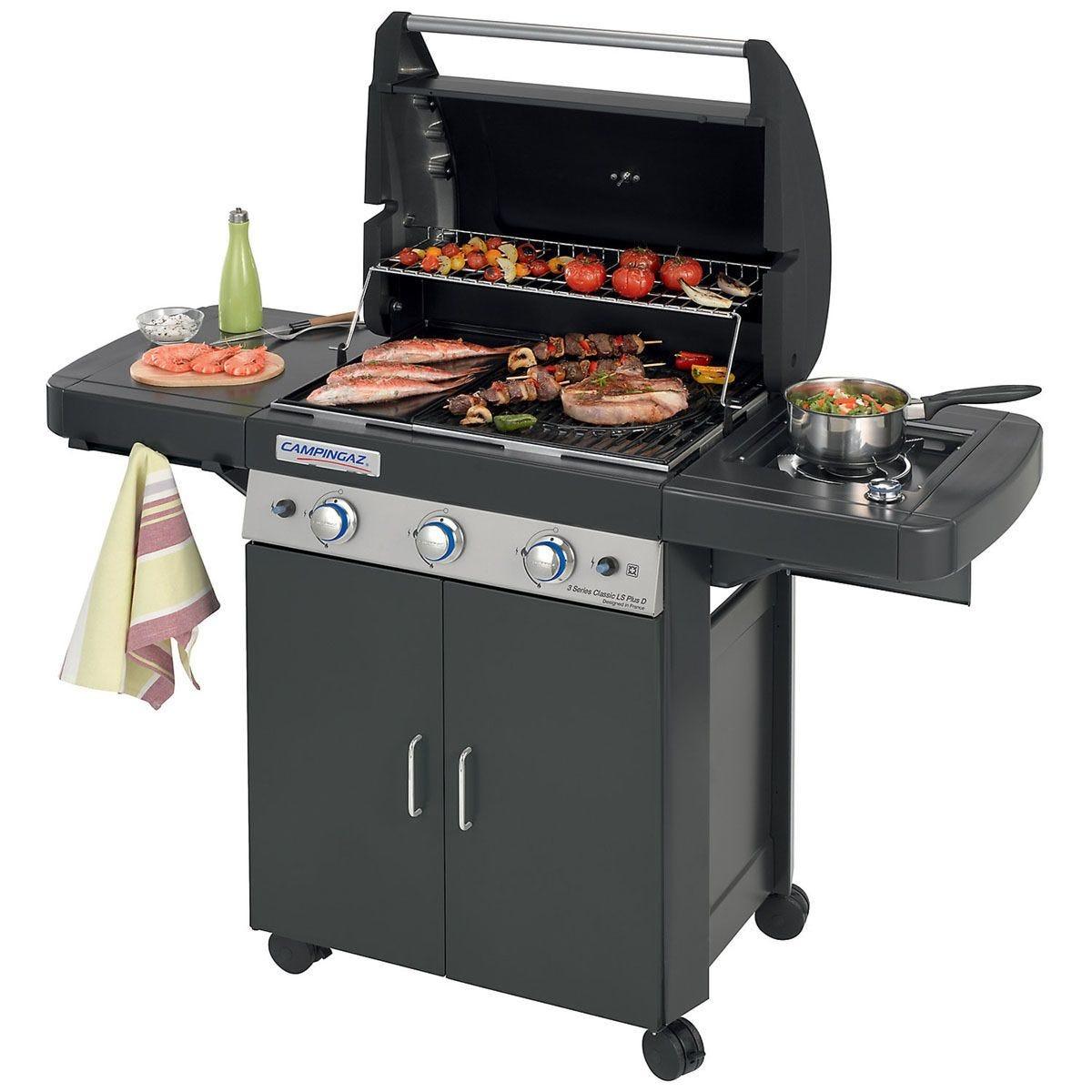 Campingaz 3 Series Classic Ls Plus Gas BBQ - Black