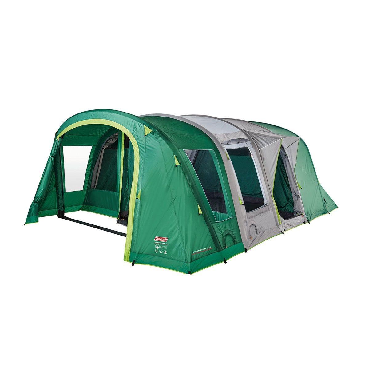 Coleman Valdes Deluxe 6 XL Tent - Green