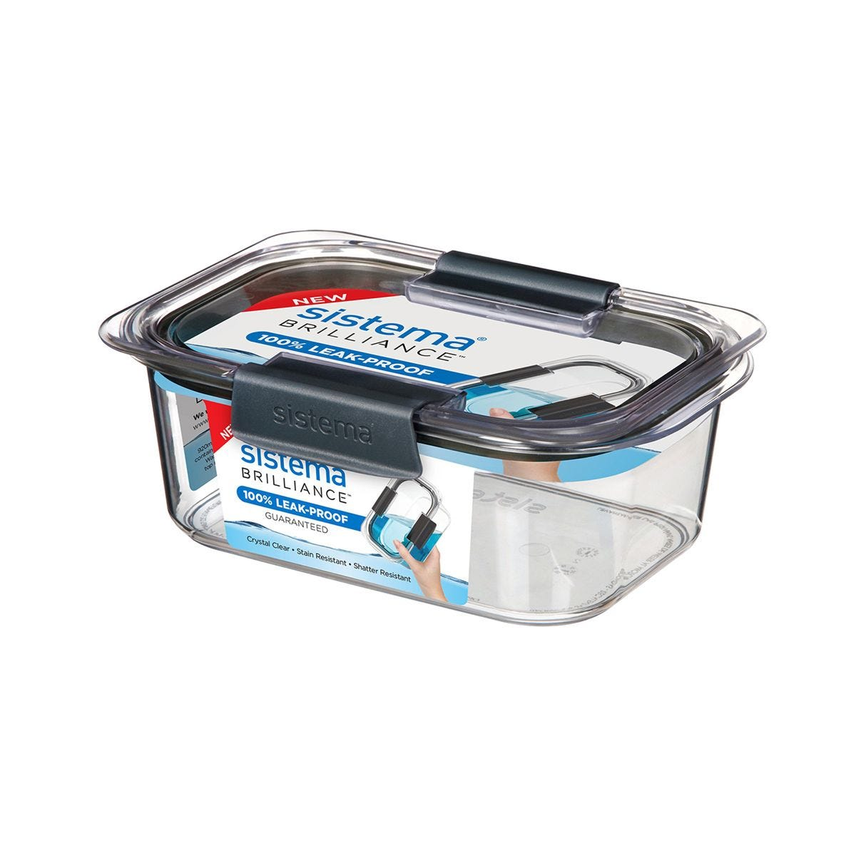 Sistema Brilliance Medium Rectangular Container - 920ml