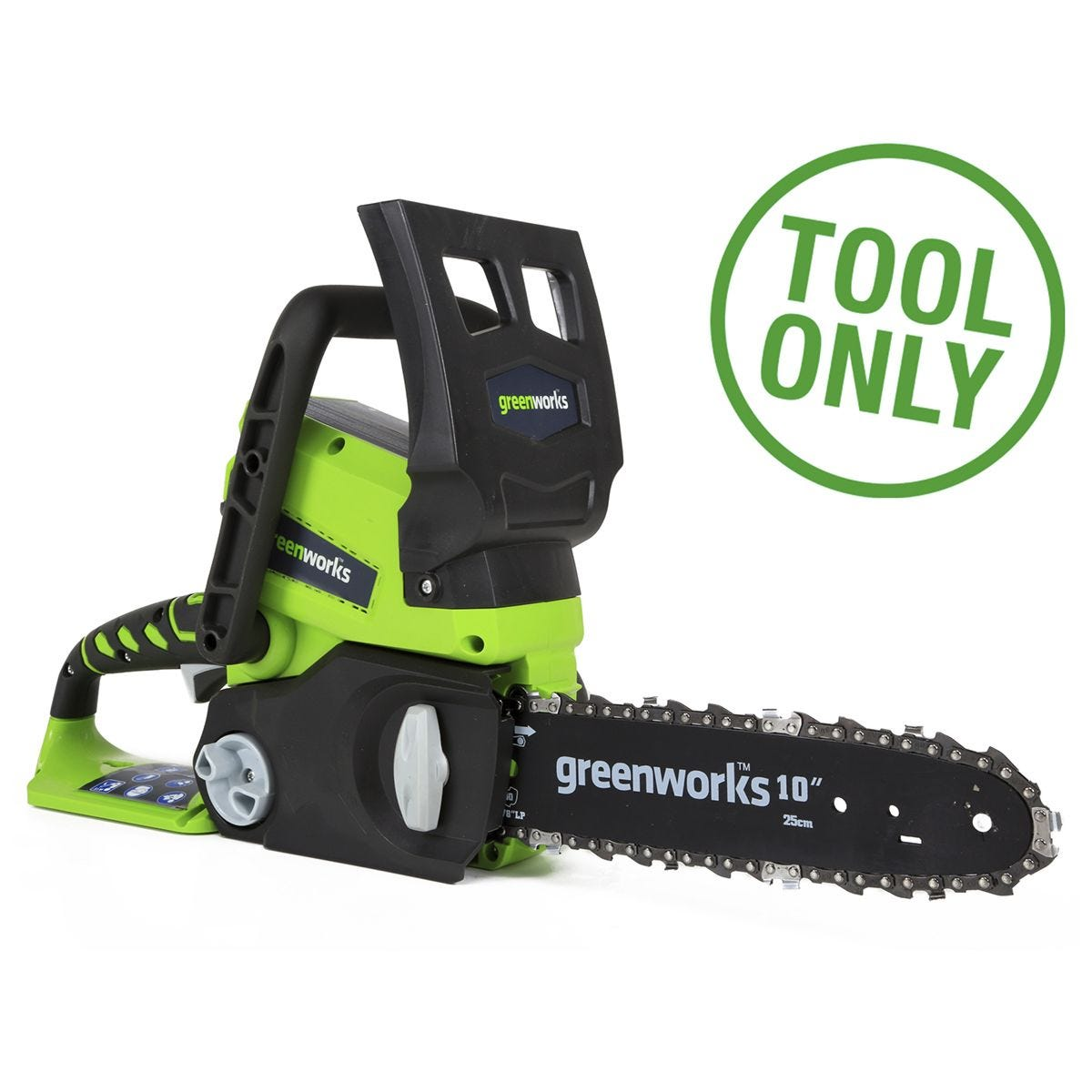 Greenworks 24v 25cm Chainsaw (Tool Only)