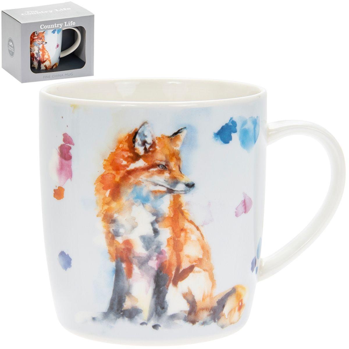 Country Life Fox Mug