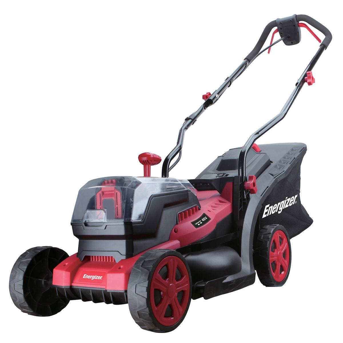 Energizer 20V Cordless Mower Includes 2 x 4Ah Batteries and Charger