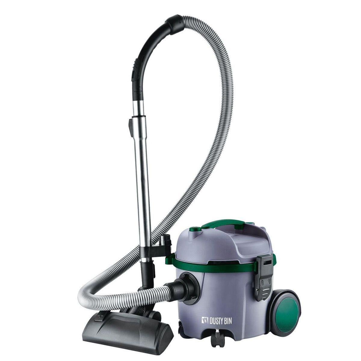Dusty Bin Bagless Compact Lite Vacuum Cleaner - Grey