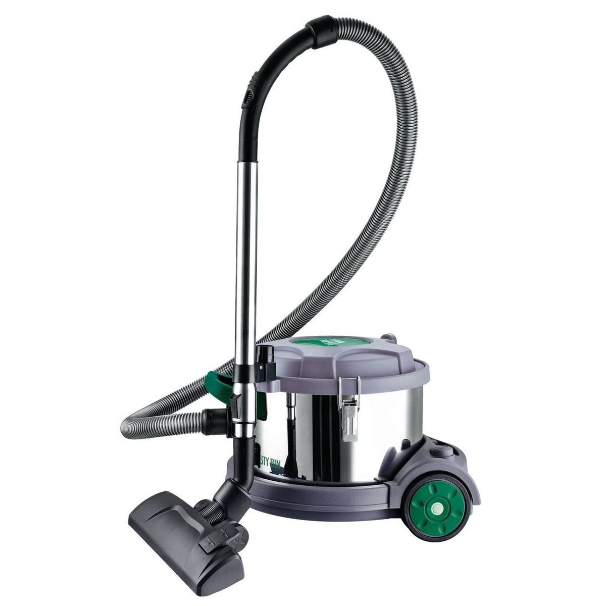 Dusty Bin 12L Max Canister Vacuum Cleaner - Stainless Steel