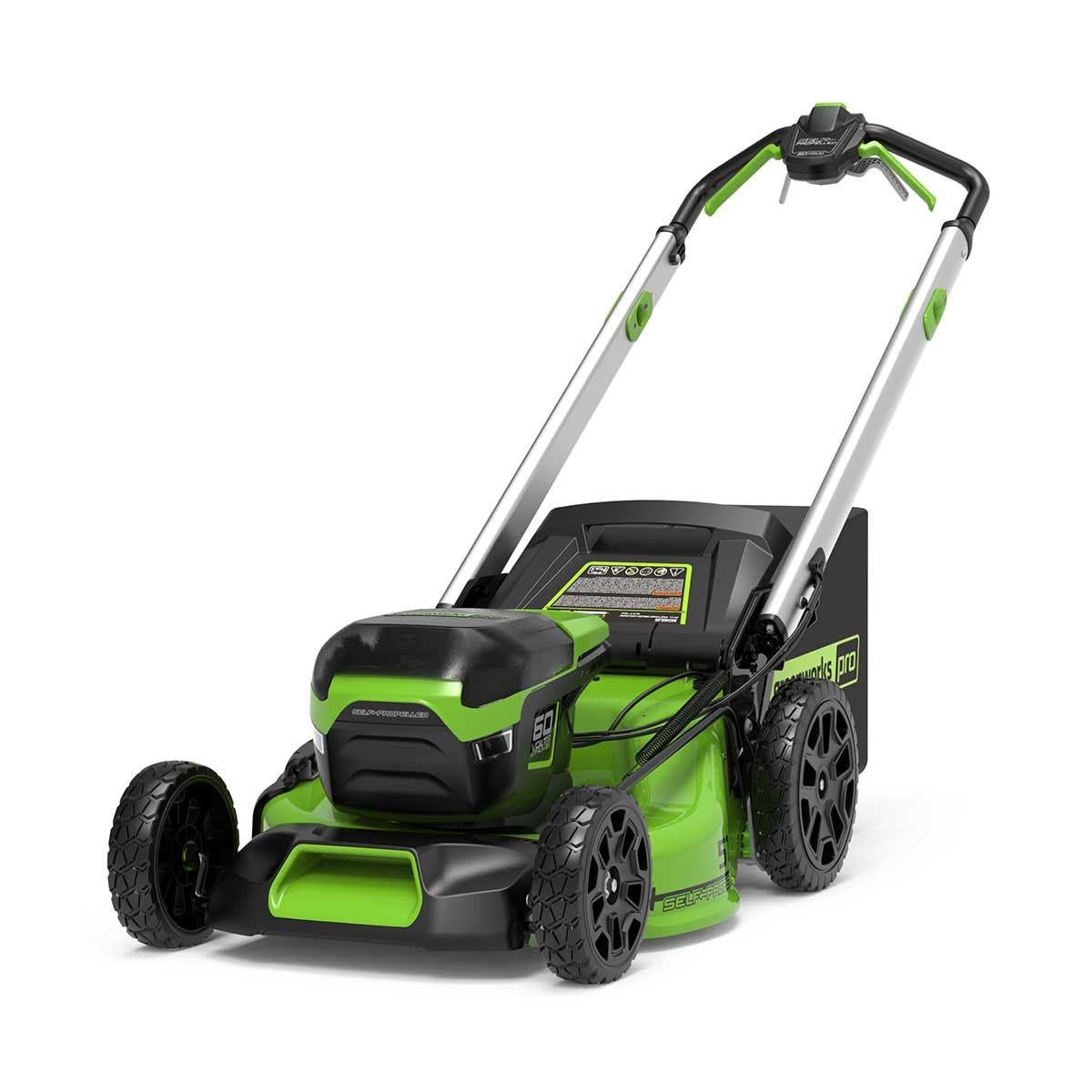 Greenworks 60V DigiPro 51cm Self Propelled Cordless Lawnmower (Tool Only)