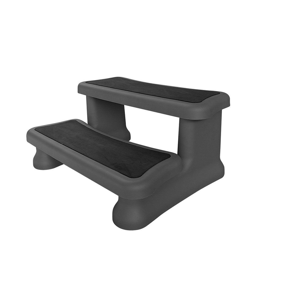 Canadian Spa Plastic Steps Spa - Black