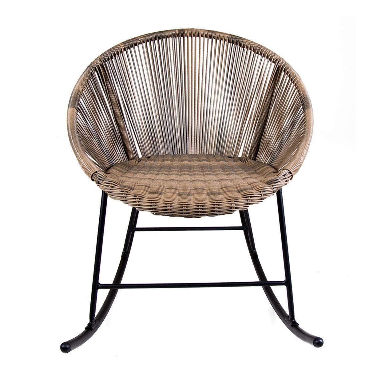 Charles Bentley Bali Rocking Chair - Natural