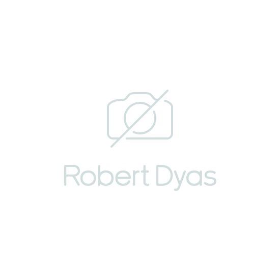 Charles Bentley 4 Seater Folding Metal Rectangle Dining Set - Grey