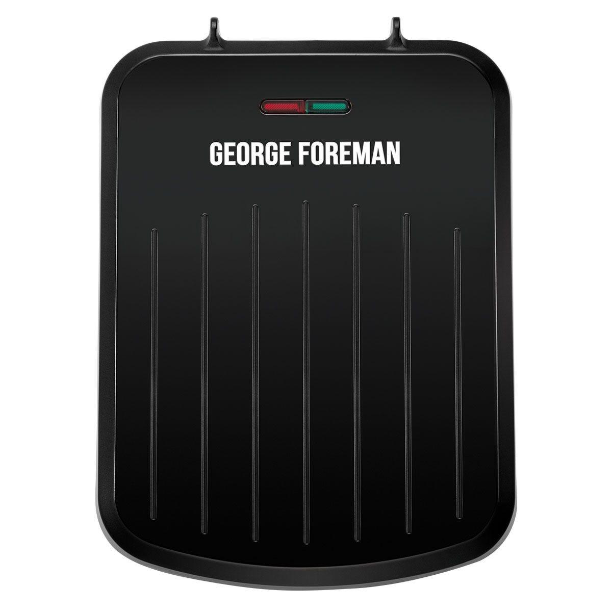George Foreman 25800 Small Fit 760W Grill – Black