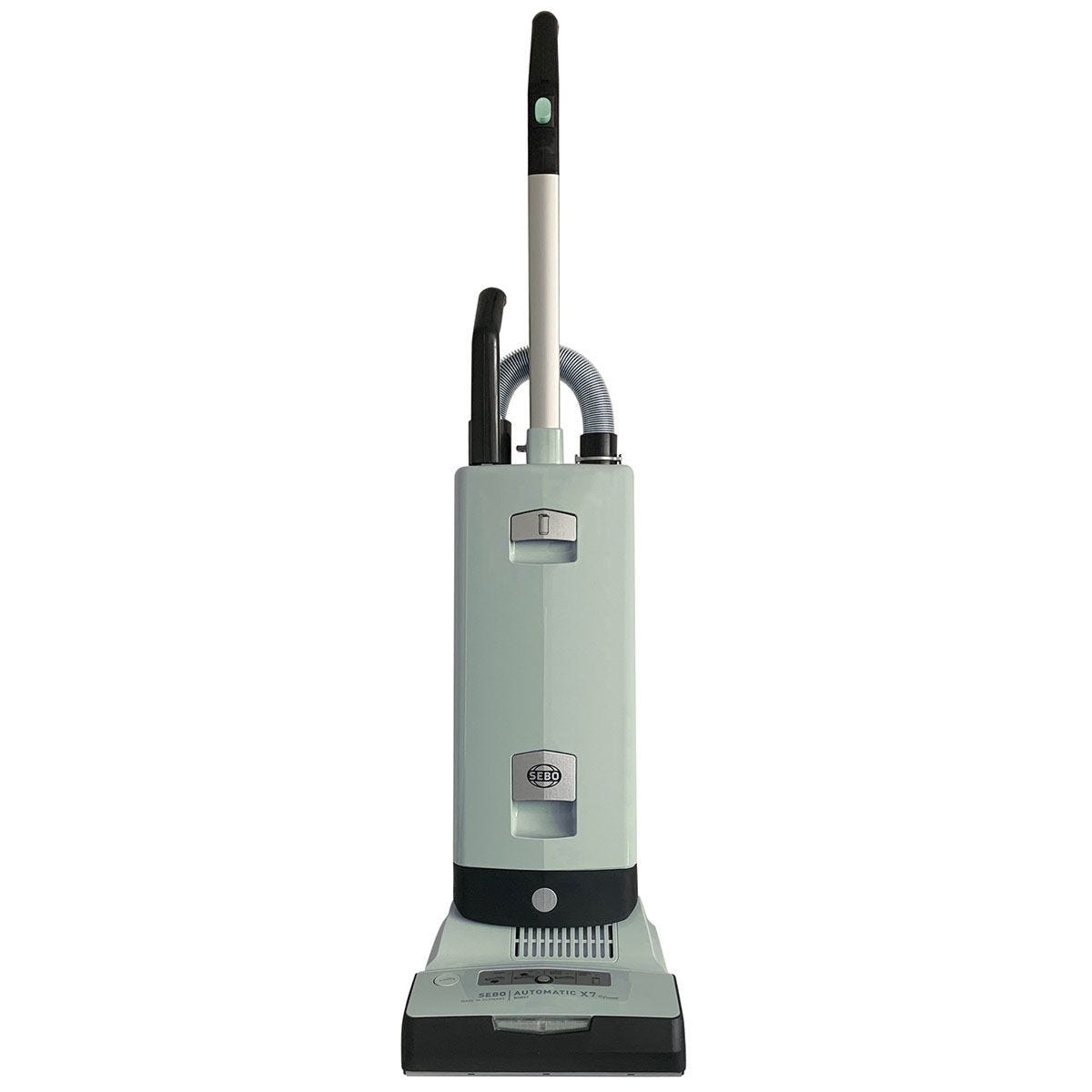 Sebo 890W Automatic X7 Boost EPower Bagged Upright Vacuum Cleaner - Pastel Mint