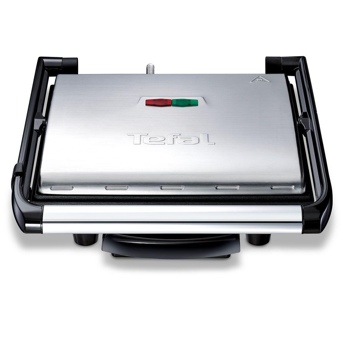 Tefal GC241D40 Inicio 2000W Multifunctional Grill – Black & Silver