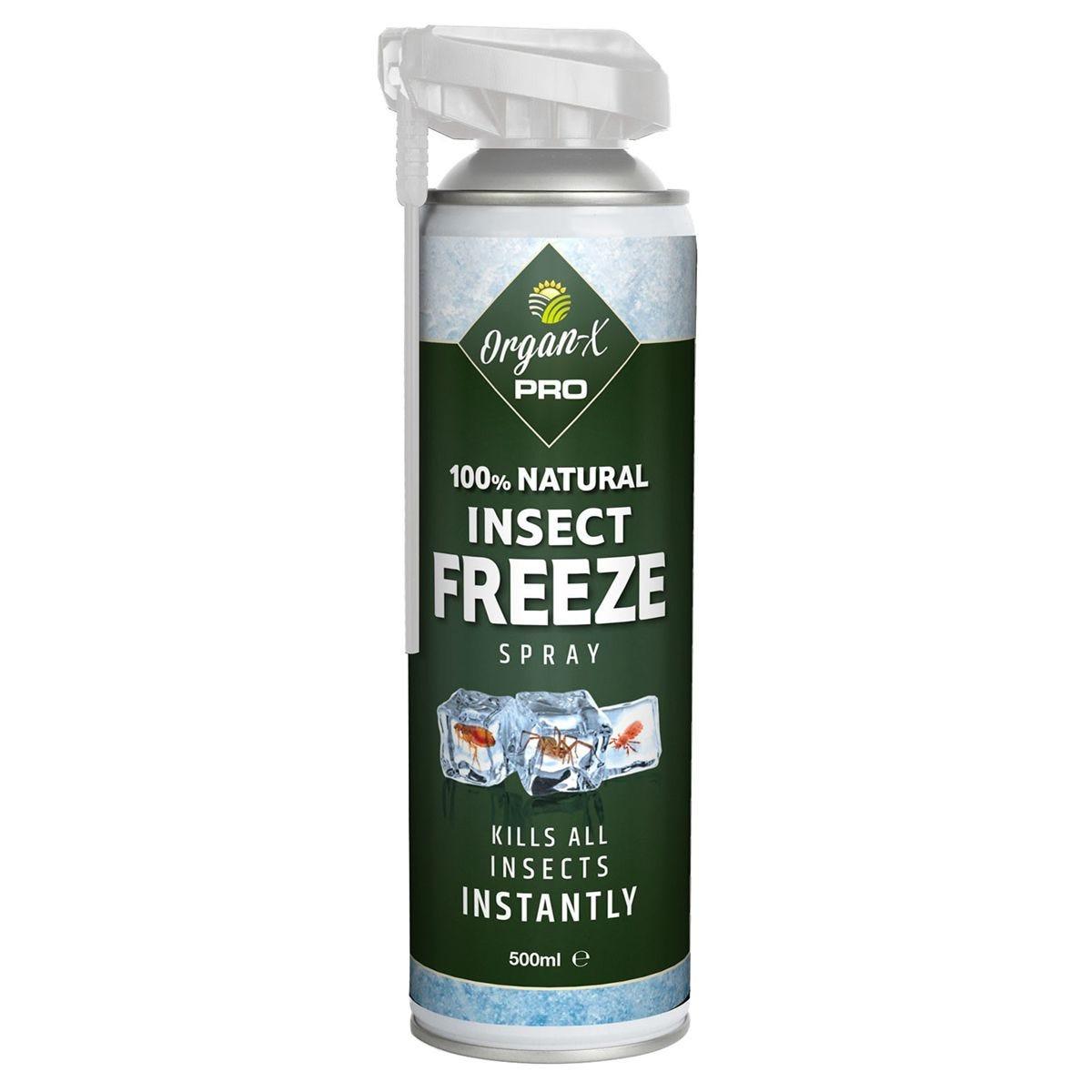 Organ-X Pro Insect Freeze Spray - 500ml