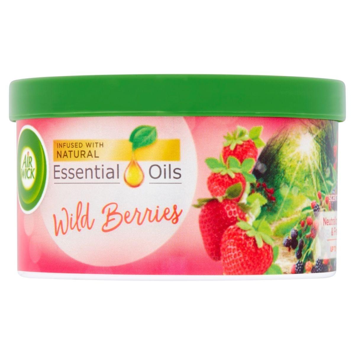 Airwick Gel Tin - Wild Berries 70g