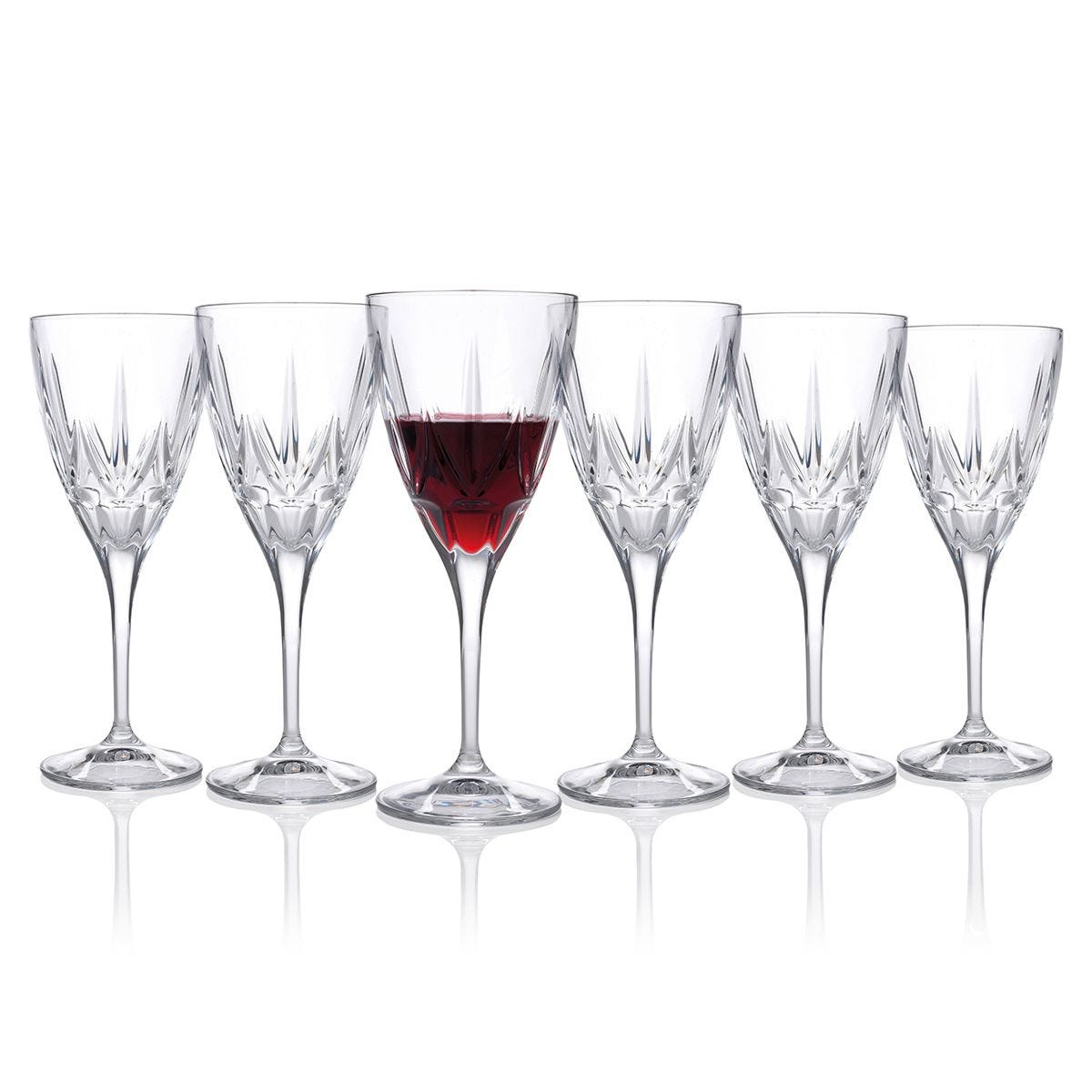 RCR Chic Luxury Red Wine Glass Set