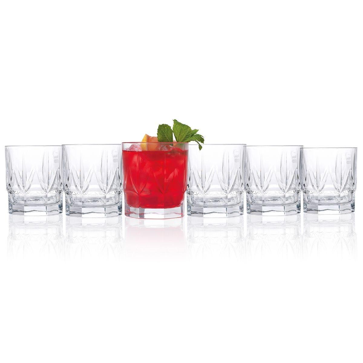 RCR Chic Luxury Whiskey Glasses - Set of 6