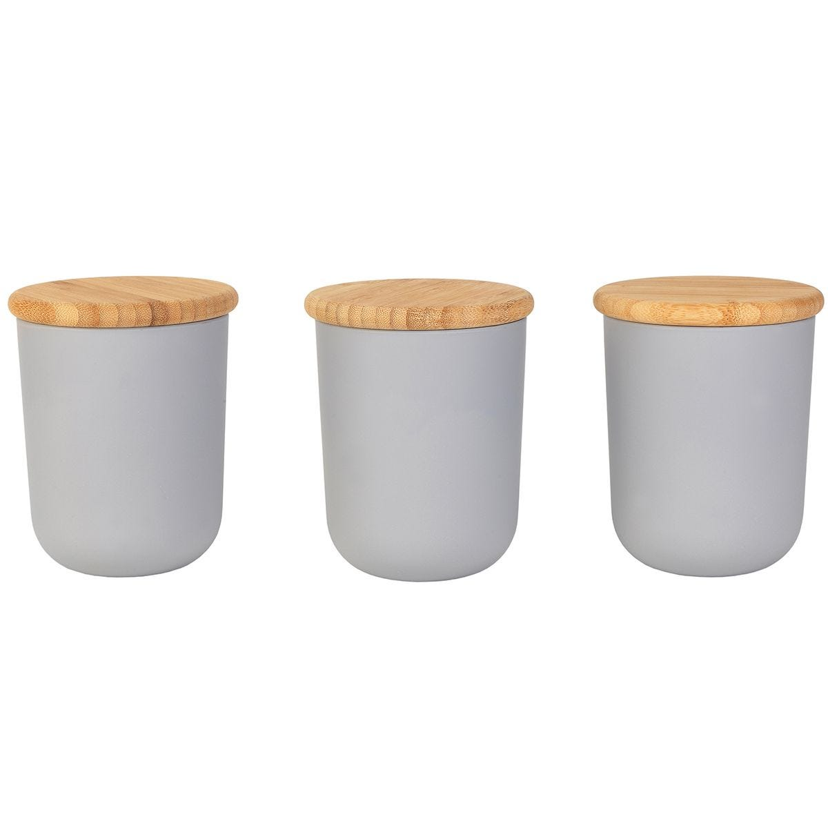 Salter Canister Set - Grey